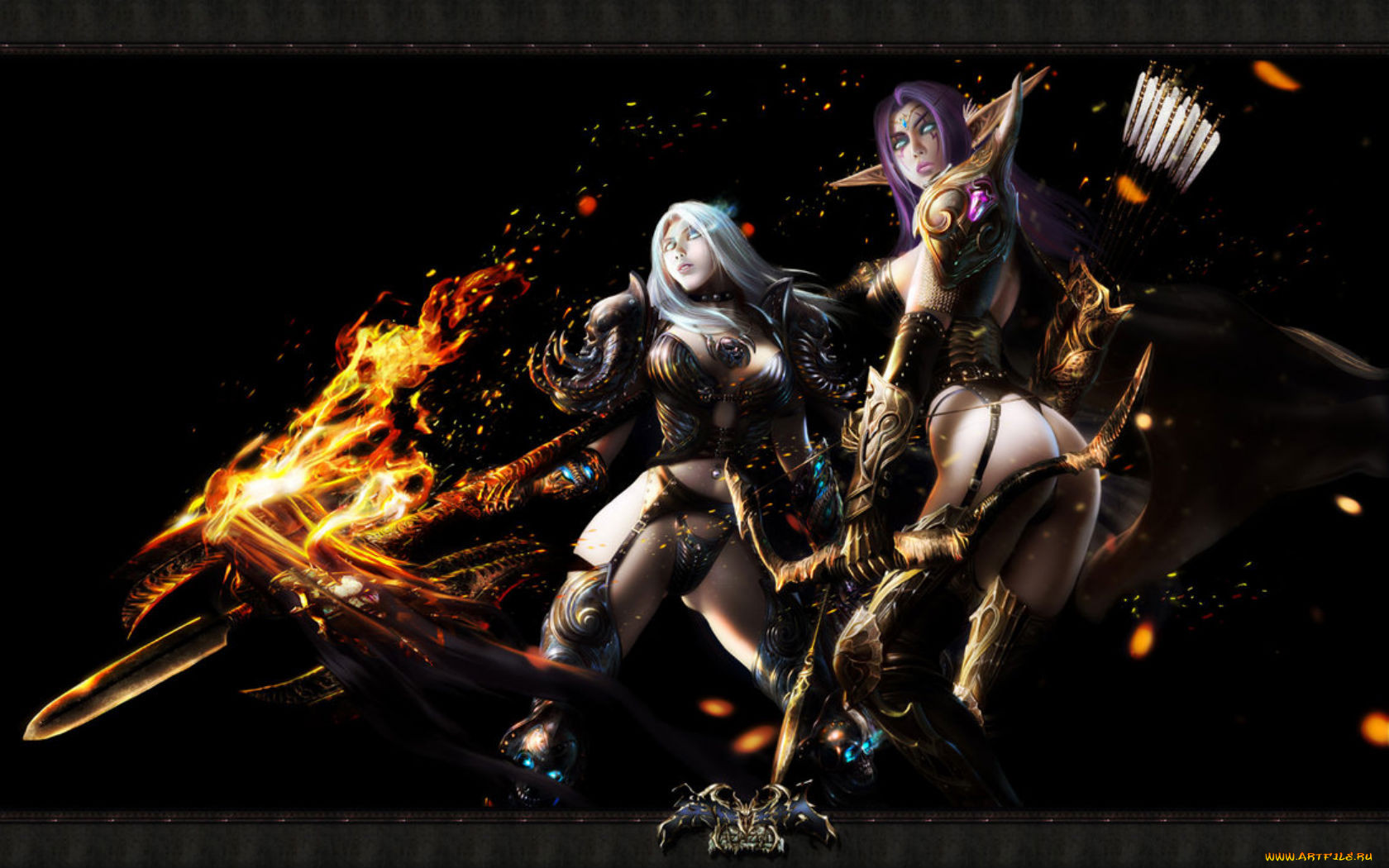 Sexy World of Warcraft wallpapers sexual toons